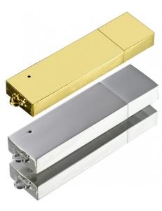 Флешка металлическая M-23.  Ёмкость 2, 4, 8, 16, 32 Гб