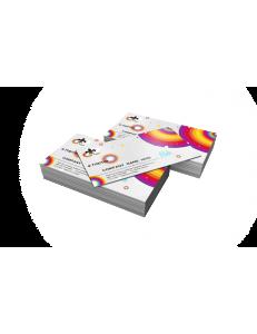 Визитки односторонние мелованная бумага 300гр