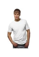 Футболка мужская Galant белая, 150 гр/м2