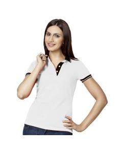Рубашка-поло женская Contrast