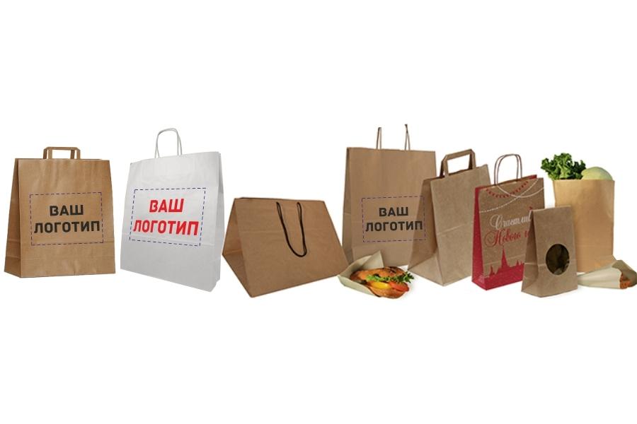 купить бумажные пакеты оптом с логотипом Львович Фролов