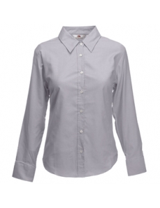"Рубашка ""Lady-Fit Long Sleeve Oxford Shirt"", M"