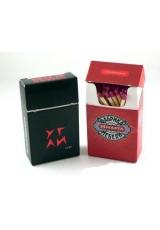 Спички в коробках,   Flip-top Сигаретная пачка (60x35x15mm) 40 спичек