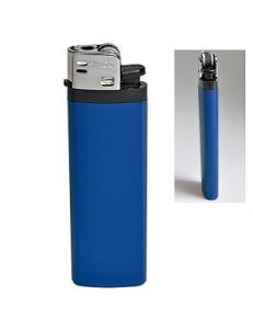 Зажигалка кремневая ISKRA, синяя, 8,18х2,53х1,05 см, пластик