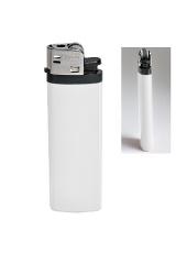 Зажигалка кремневая ISKRA, белая, 8,18х2,53х1,05 см, пластик