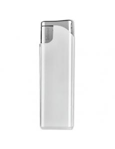 Зажигалка пьезо ISKRA, белая, 7,9х2,4х0,91 см, пластик