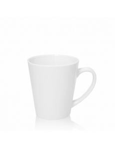 Кружка конусная малая 400гр, керамика. Полноцветная печать логотипа