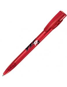 KIKI FROST, ручка шариковая, фростированный красный, пластик