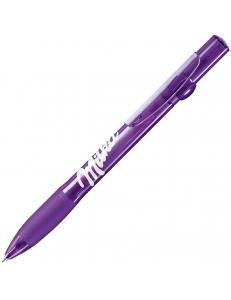 ALLEGRA LX, ручка шариковая, прозрачный сиреневый, пластик