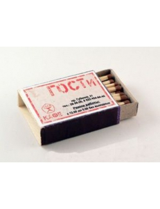 Спички в коробках, Ретро 35 L51 (51x37x11mm) Наполнение 40 спичек